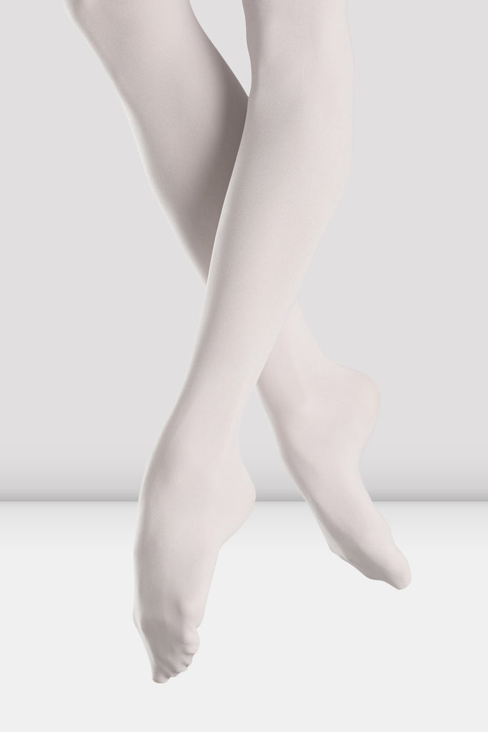 Adult Footed Tights Tights Bloch Adult A White