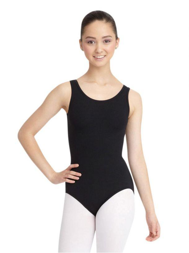 Adult Tank Leotard Leotards Capezio Adult XS Black