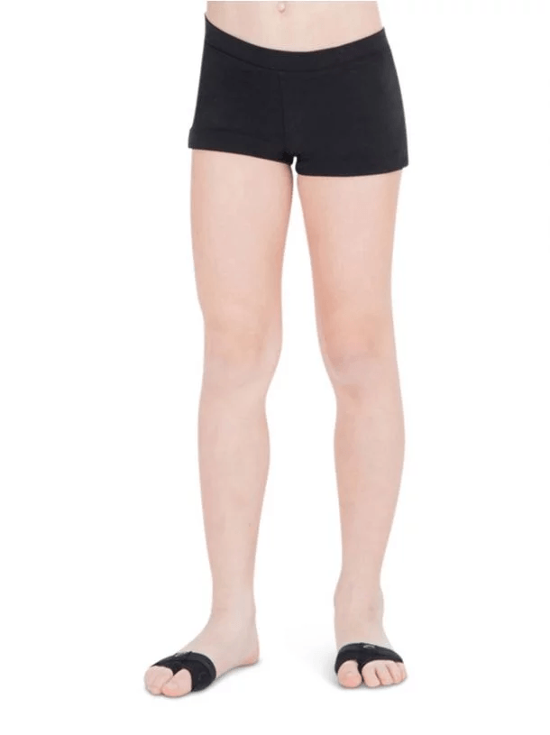 Boys Cut Low Rise Child Shorts Bottoms Capezio Child T Black