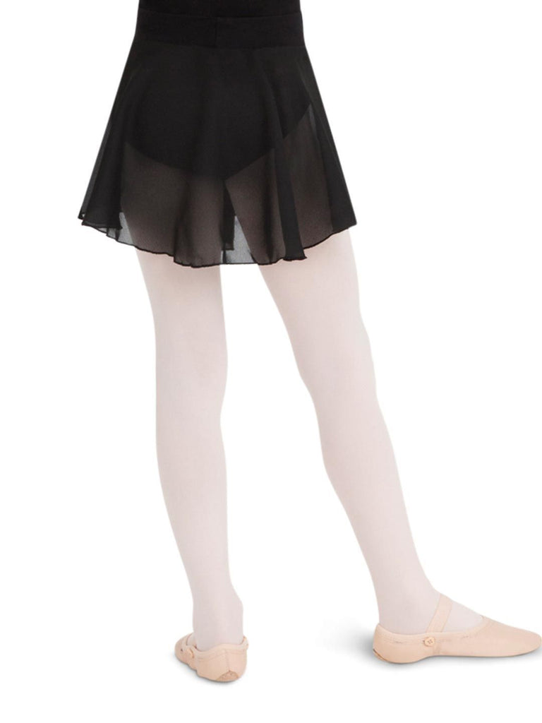 Child Georgette Pull-On Skirt Bottoms Capezio Child S Black