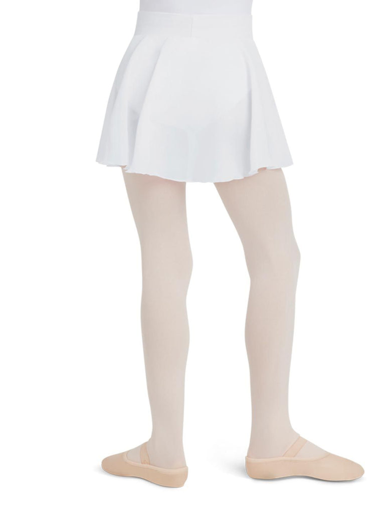 Child Georgette Pull-On Skirt Bottoms Capezio Child S White
