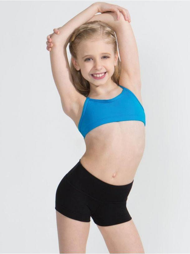 Child Gusset Shorts Bottoms Capezio