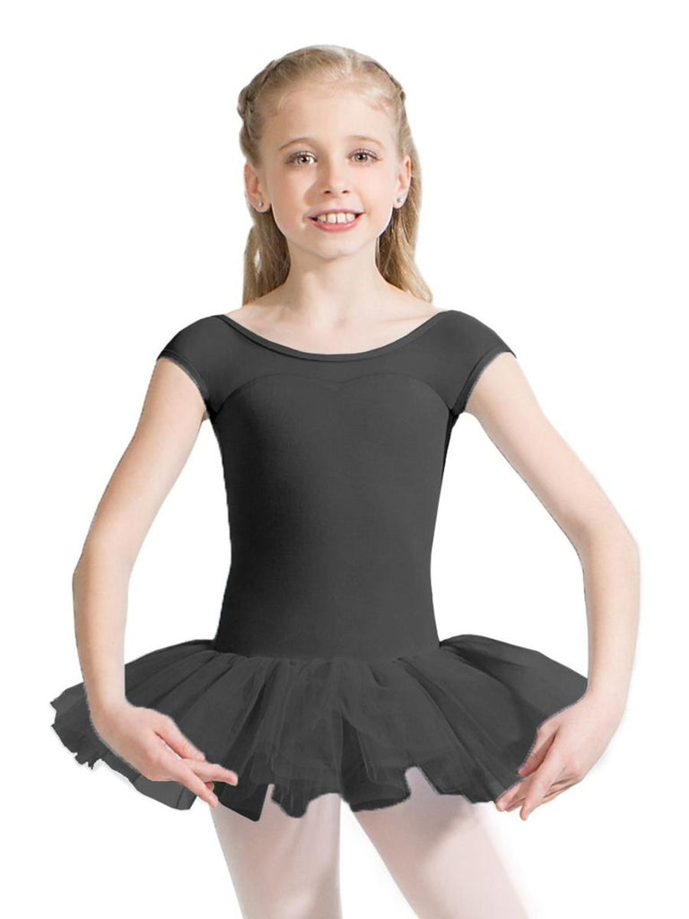 Child Keyhole Back Tutu Dress Dresses Capezio Child T Black