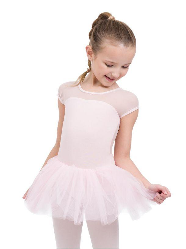 Child Keyhole Back Tutu Dress Dresses Capezio Child T Pink