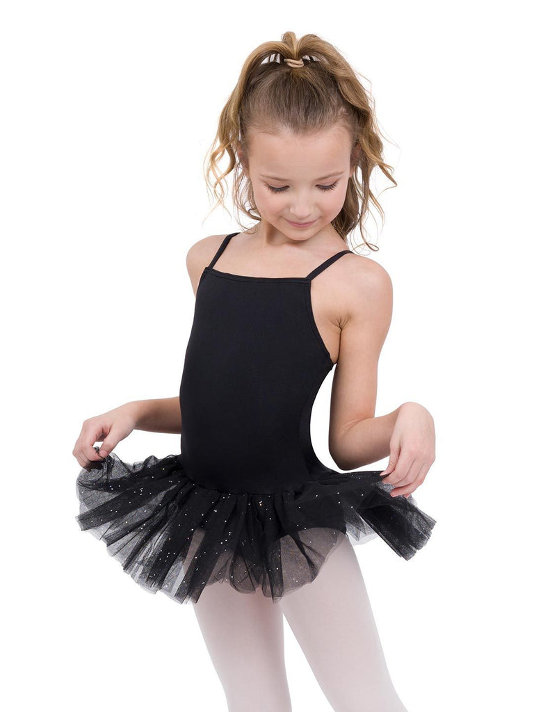 Children's Tutu Dress with Glitter Dresses Capezio Child T Black