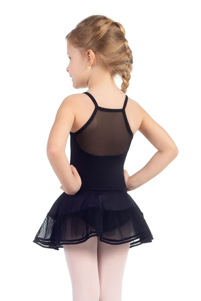 Curls Child Dress Leotard w/Attached Skirt Dresses Só Dança