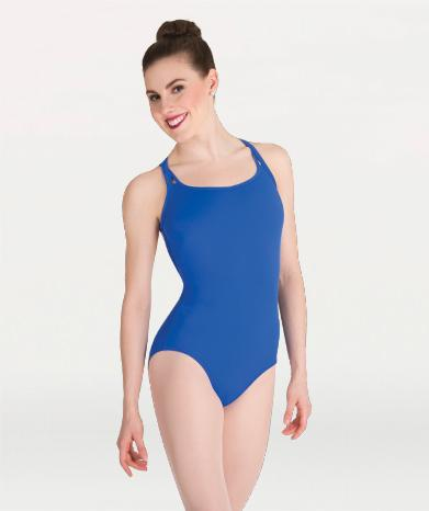 Double Strap Adult Leotard Leotards Body Wrappers Adult XS Royal