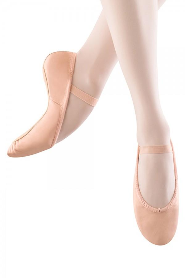 Girl's Dansoft Ballet Shoes Ballet Shoes Bloch Child 7 Width-A Pink