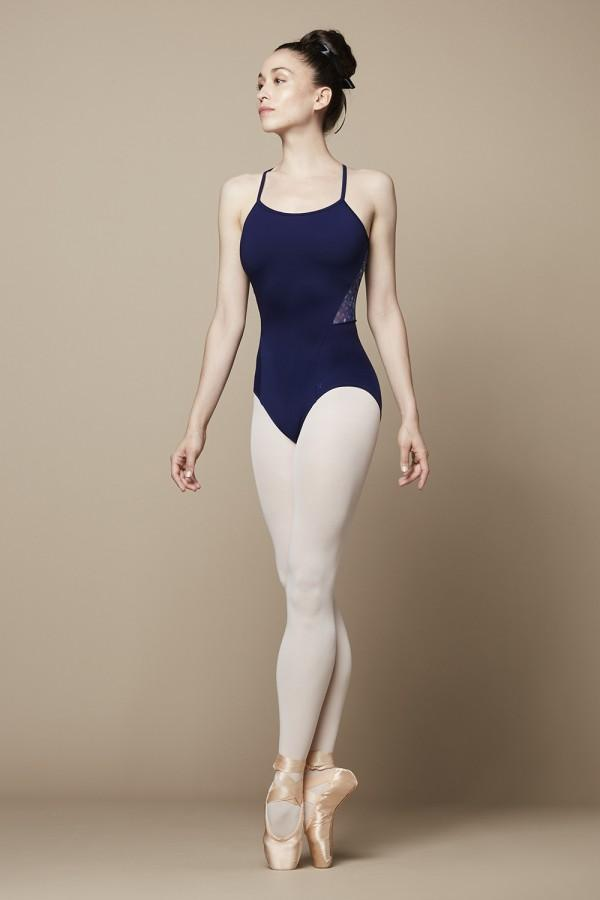 Ladies Saskia Open Back Camisole Leotard Leotards Bloch