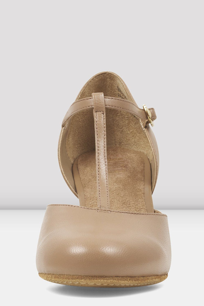 Ladies Split Flex Leather Character Shoes Character Shoes Bloch
