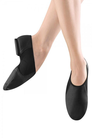 Leather Slip On Adult Jazz Shoe Jazz Shoes Bloch Adult 4 Black Width-N