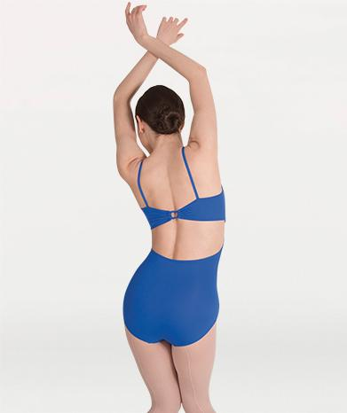 Loop Back Adult Camisole Leotard Leotards Body Wrappers Adult XS Sapphire