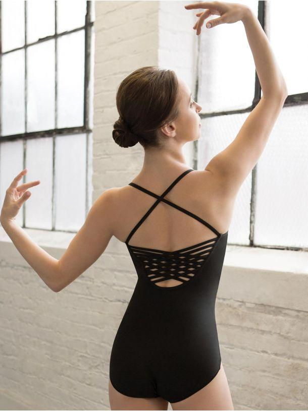 Meryl Strappy Back Adult Camisole Leotard Leotards Capezio