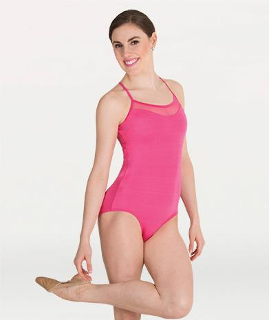 Mesh Inserts Camisole Child Leotard Leotards Body Wrappers