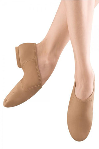 Neo-flex Slip On Girls Jazz Shoe Jazz Shoes Bloch Child 10 Tan