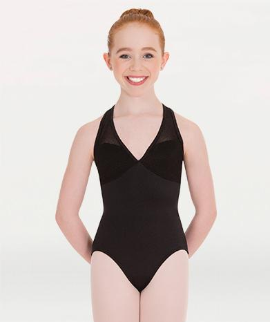Pointelle Mesh Racerback Child Leotard Leotards Body Wrappers