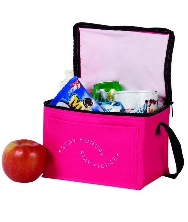 Stay Hungry Stay Fierce - Insulated Lunch Tote Dance & Fitness Accessories Covet Dance Fuchsia