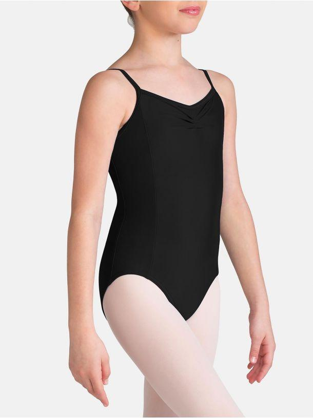 Tactel Pinch Front Child Leotard Leotards Capezio