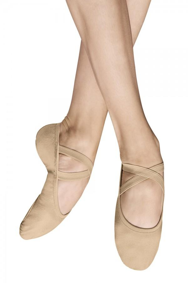 Women's Performa Ballet Shoes Ballet Shoes Bloch Adult 2 Width-B Sand