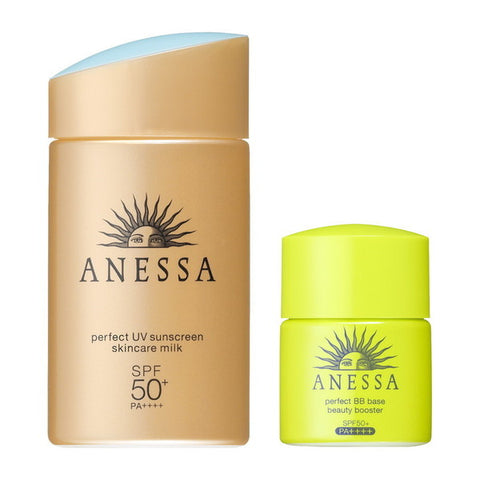 Anessa Perfect UV Sunscreen Skincare Milk + BB Base FREE