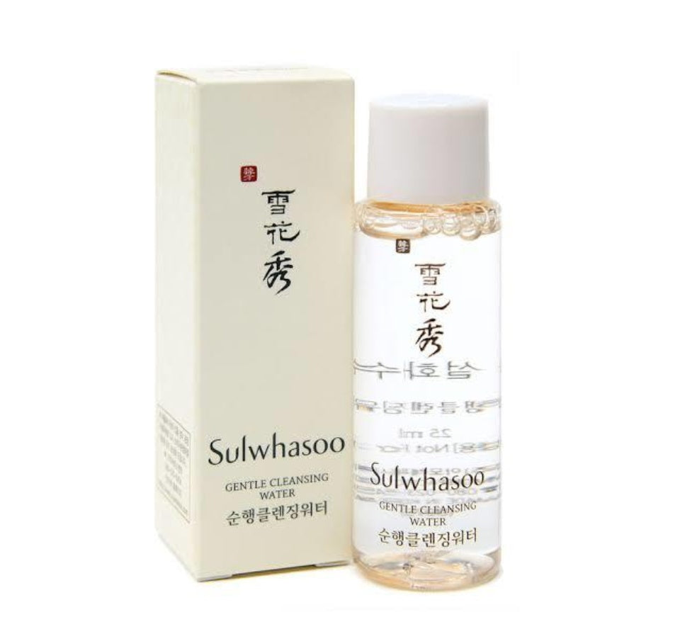 Sulwhasoo Gentle Cleansing Water (50ml) Travel Size
