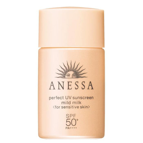 Anessa Perfect UV Sunscreen Mild Milk (for sensitive skin) SPF 50+ PA++++ 20ml