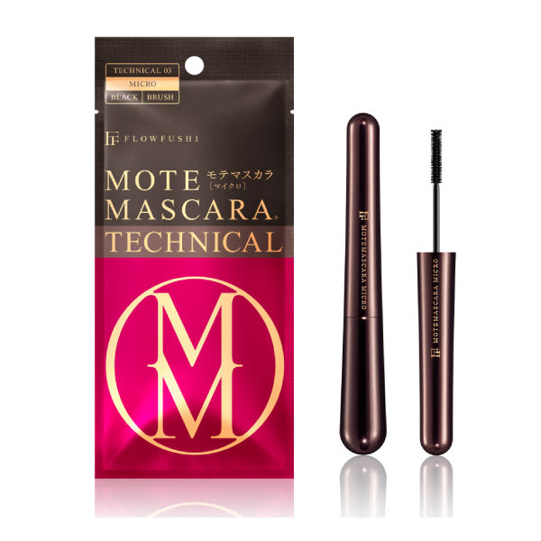 Flowfushi MOTE MASCARA TECHNICAL 03 Microbrush [Black] - The Style Quarter