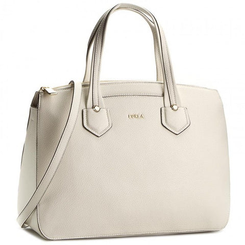 Furla Giada L Satchel with Zipper (Petalo)