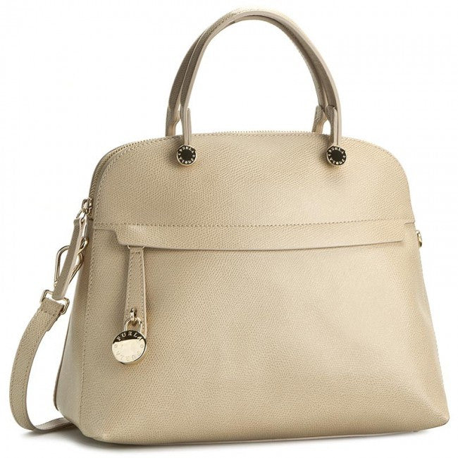 Furla Piper M Dome (Acero) - The Style Quarter
