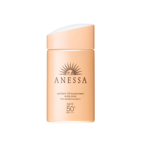 Anessa Perfect UV Sunscreen Mild Milk (for sensitive skin) SPF 50+ PA++++ 60ml