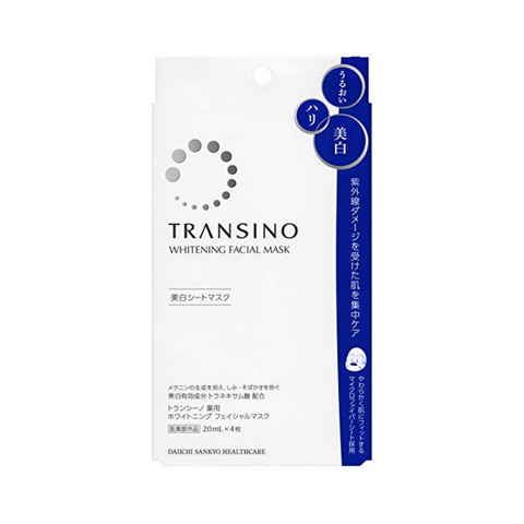 Transino Whitening Facial Mask 22ml x 4 Sheets