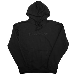 Persona non Grata Logo Hooded Sweat