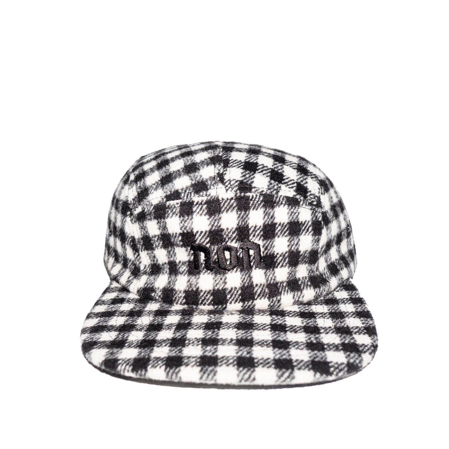 Non Checkered Wool 5-panel Cap