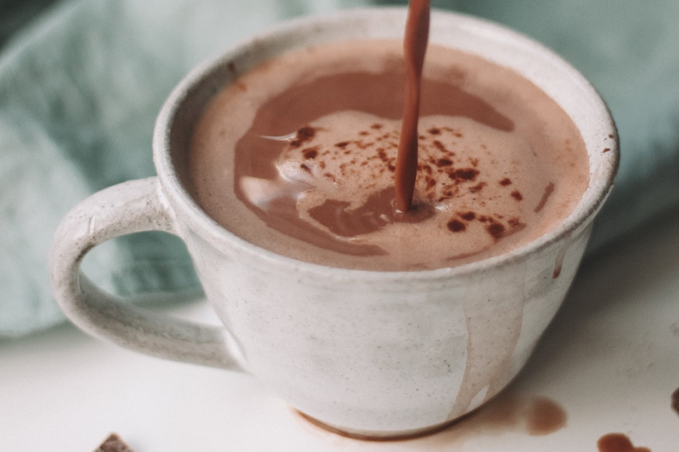 Cooking With CBD - CBD Peppermint Mocha Latte