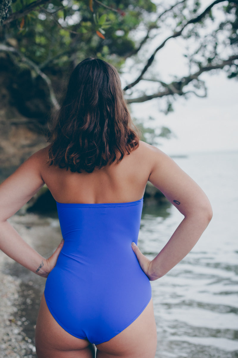Plaza One Piece Cobalt Blue