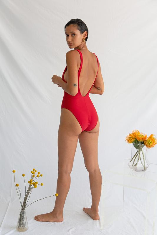 Roe Maillot Rouge