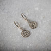 Sterling Silver Hope-Knot Earrings