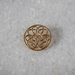 14K Gold Hope-Knot Pin