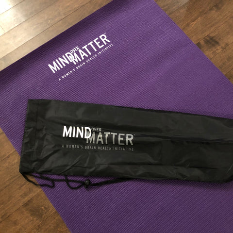 Mind Over Matter Yoga Mat & Carry Bag