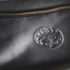 Leather Hope-Knot Wrist Bag