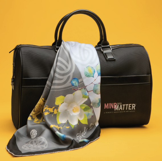 Mind Over Matter Duffle with Free Hope-Knot pin
