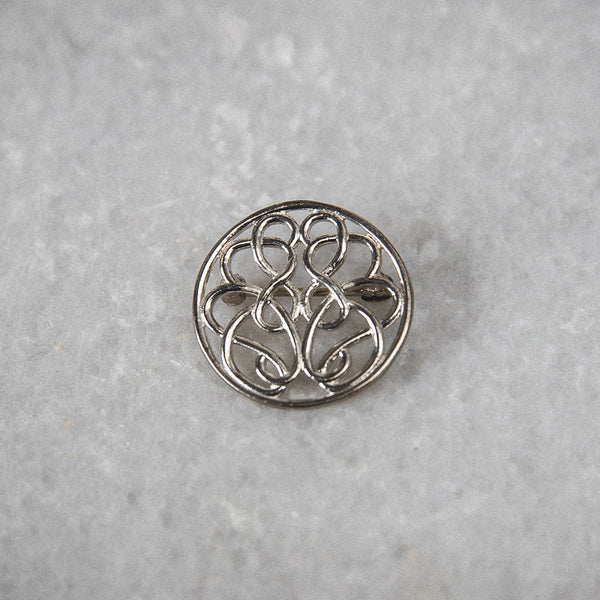 Sterling Silver Hope-Knot Pin