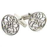 Sterling Silver Hope-Knot Cufflinks