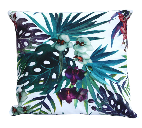 Orchid Flower Cushion