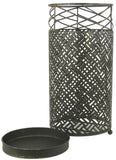 Abstract Design Metal Umbrella Stand