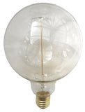 Large Globe Lightbulb with Squirrel Cage Filament