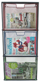 Multi Coloured Metal Wall Hanging Filing Unit