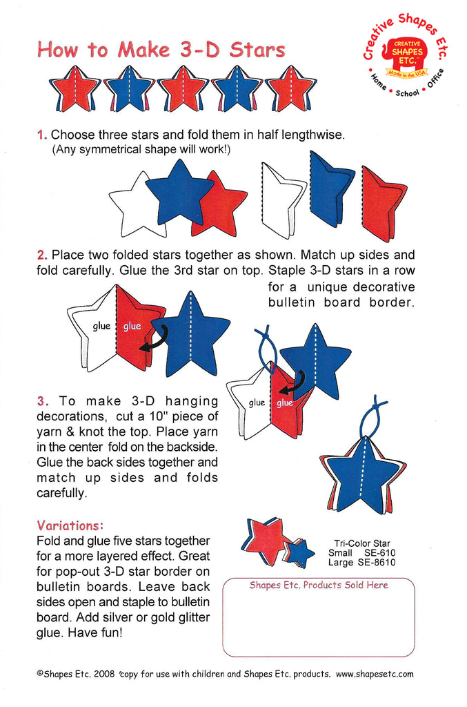 New How-To: 3-D Stars