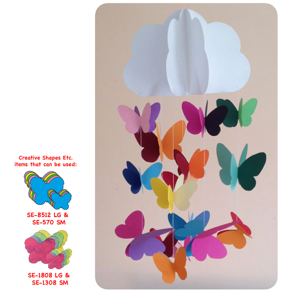 Butterfly Hanging Mobile