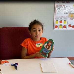 Craft With Gabby - How To Craft A Shaped Book For A School Project